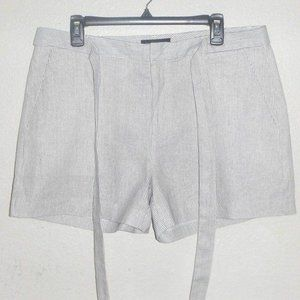 Banana Republic Factory belted striped short 12